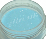 Light blue acrylic powder with glitter 4g /087/